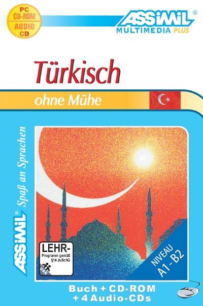 Assimil Türkisch ohne Mühe, Lehrbuch, 4 Audio-CDs u. 1 CD-ROM