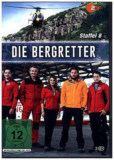 Die Bergretter. Staffel.8, 2 DVD