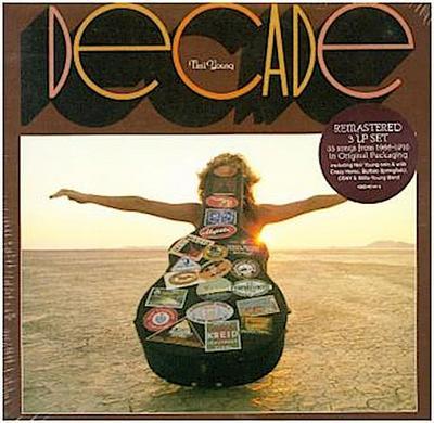 Decade, 3 Schallplatten