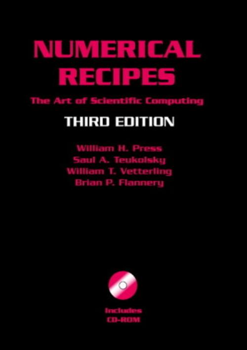 Numerical Recipes with Source Code CD-ROM William H. Press