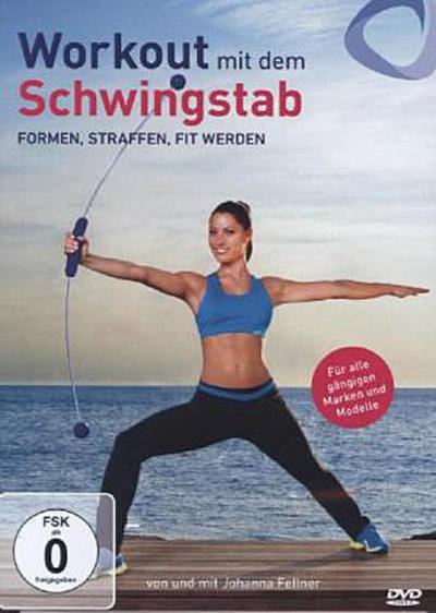 Workout mit dem Schwingstab, 1 DVD