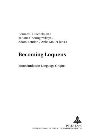 Becoming Loquens
