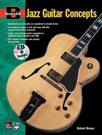 Basix Jazz Guitar Concepts: Book & CD