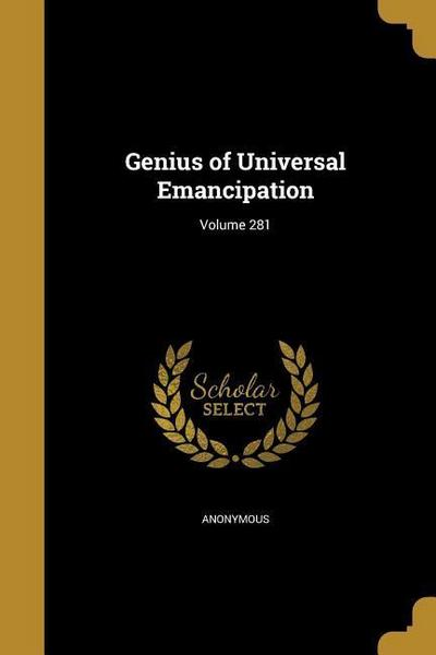 GENIUS OF UNIVERSAL EMANCIPATI