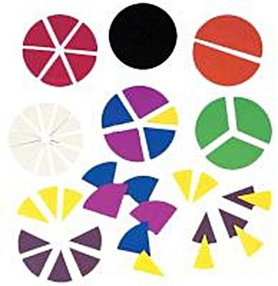 Ideal Books: DLX FRACTION CIRCLES