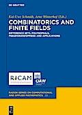Combinatorics and Finite Fields
