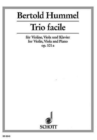 Trio facile op.101a für Violine,Viola und Klavier