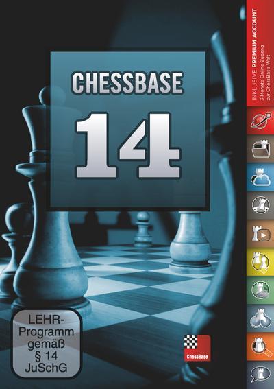 ChessBase 14 - Das Megapaket: Die professionelle Schachdatenbank für den Turnierspieler - Chess-Base - DVD-ROM, Deutsch, ChessBase GmbH, Die professionelle Schachdatenbank für den Turnierspieler, Die professionelle Schachdatenbank für den Turnierspieler