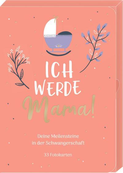 Meilensteinkarten - Ich werde Mama! - Deine Meilensteine in der Schwangerschaft