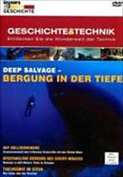 Discovery Geschichte & Technik - Deep Salvage-Bergung In Der Tiefe - Entertainment M.TWO Gmbh - DVD, Englisch| Deutsch, , ,
