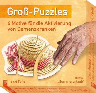 "Groß-Puzzles: Thema ""Sommerurlaub"""