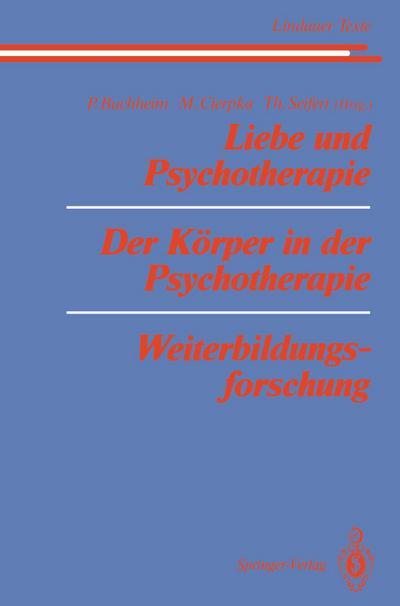 Liebe und Psychotherapie Der Korper in der Psychotherapie Weiterbildungsforschung