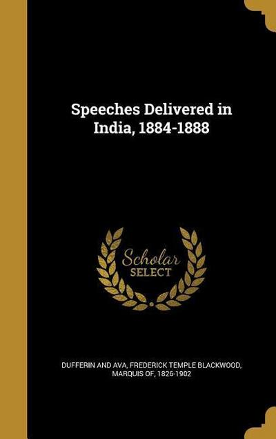 SPEECHES DELIVERED IN INDIA 18