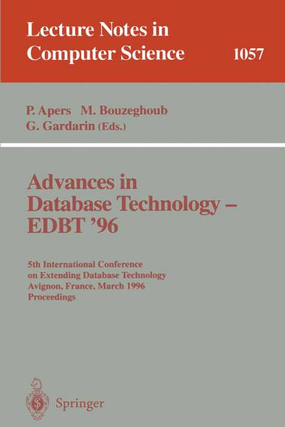 Advances in Database Technology EDBT '96