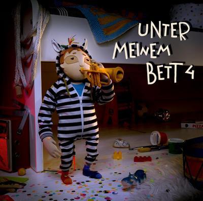 Unter meinem Bett 4; Vinylausgabe; Ill. v. Wenzel, Julia; Deutsch