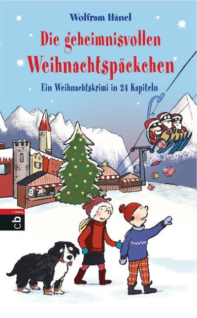 Die geheimnisvollen Weihnachtspäckchen; Ein Weihnachtskrimi in 24 Kapiteln   ; Ill. v. Göhlich, Susanne; Deutsch; it s/w-Illustrationen und chinesischer Blockbindung - 21,