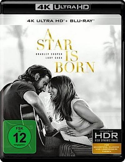A Star Is Born, 1 UHD-Blu-ray + 1 Blu-ray