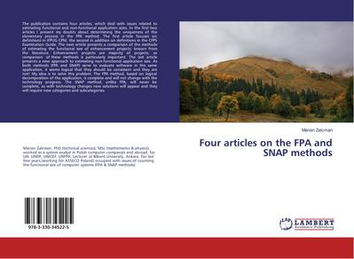 Four articles on the FPA and SNAP methods