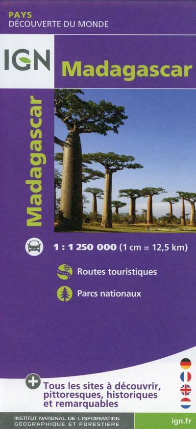 Madagascar 1:1 250 000