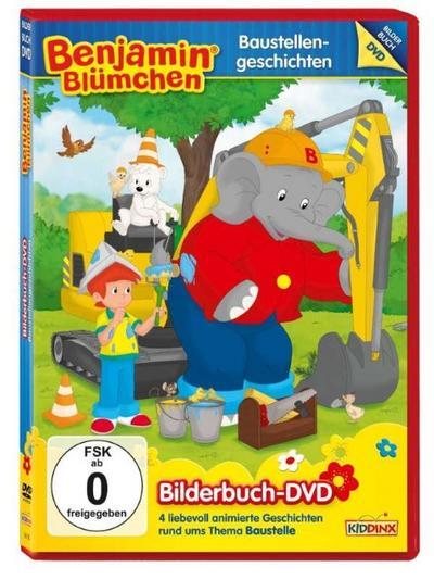 Benjamin Blümchen Bilderbuch DVD: Baustellengeschichten