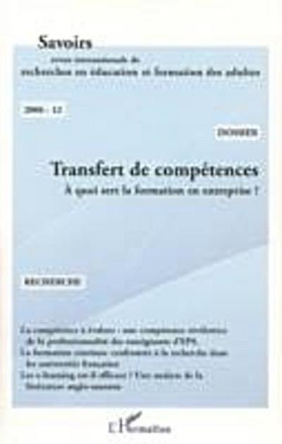Transfert de competences