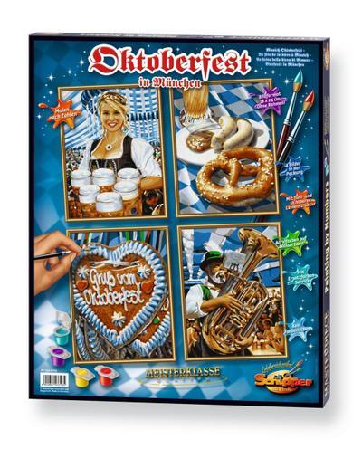 Schipper 609340723 - Malen Nach Zahlen - Oktoberfest (Quattro), 18X24 cm