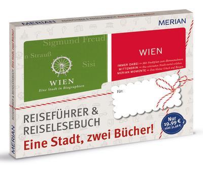 MERIAN Wien: eine Stadt, zwei Bücher; Geschenkbox zum Vorteilspreis; MERIAN momente; Deutsch