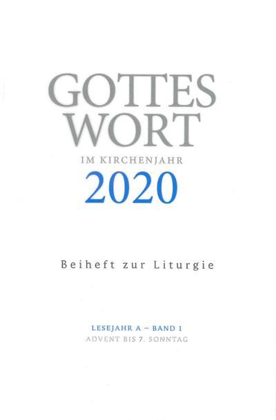 Gottes Wort im Kirchenjahr 1/2020 Beiheft