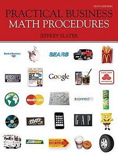 Loose-Leaf Business Math Procedures with Business Math Handbook, Student DVD V2, Wsj Insert + Connect Plus