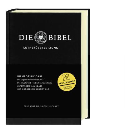 Lutherbibel revidiert 2017 - Großausgabe