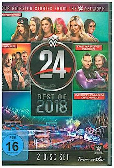 WWE 24 - The Best of 2018, 2 DVDs
