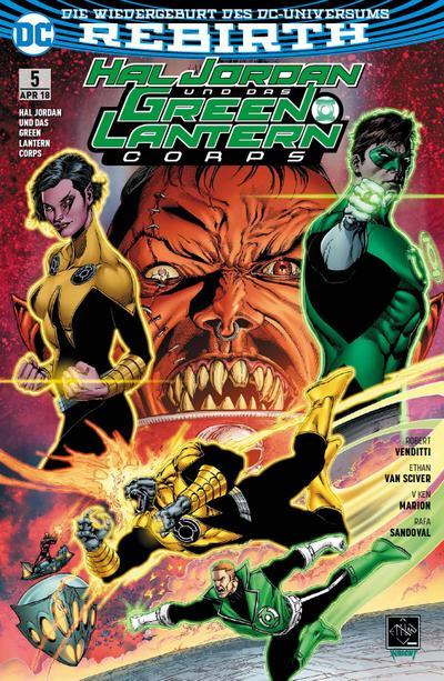 Hal Jordan und das Green Lantern Corps. Bd.5