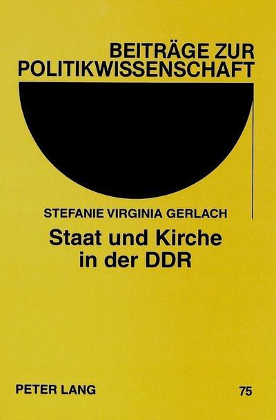 Staat und Kirche in der DDR