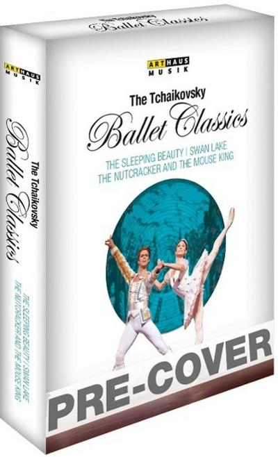 The Tchaikovsky Ballet Classics, 3 Blu-rays