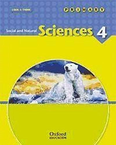 Look & Think Social and Natural Sciences 4th Primary. Pack (Class Book + CD)