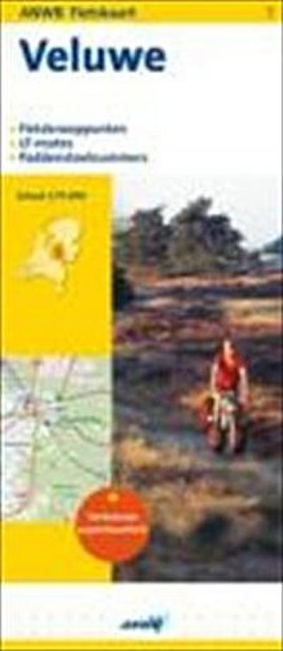 Topografische Fietskaart 7 Veluwe 1 : 75 000
