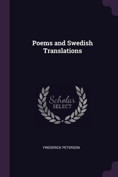 Poems and Swedish Translations