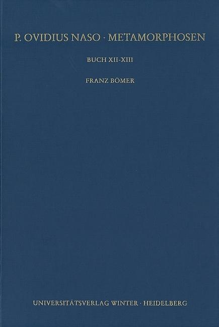 Buch XII-XIII Franz Bömer