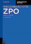 Zivilprozessordnung und Nebengesetze Band 5/2 ...
