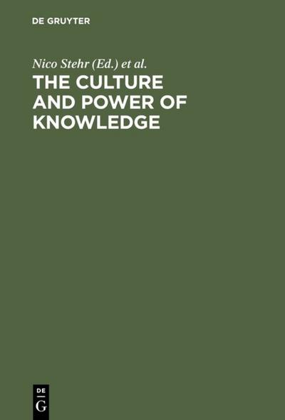 The Culture and Power of Knowledge