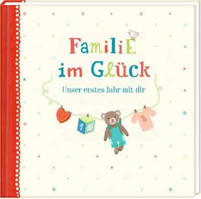 Eintragalbum - Familie im Glück