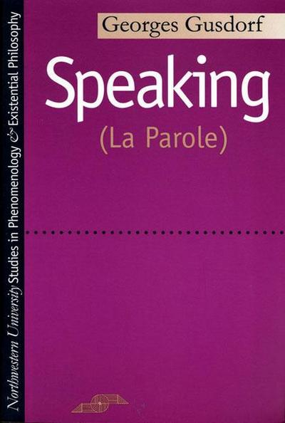 Speaking: (la Parole)