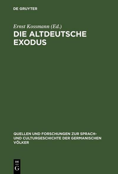Die altdeutsche Exodus