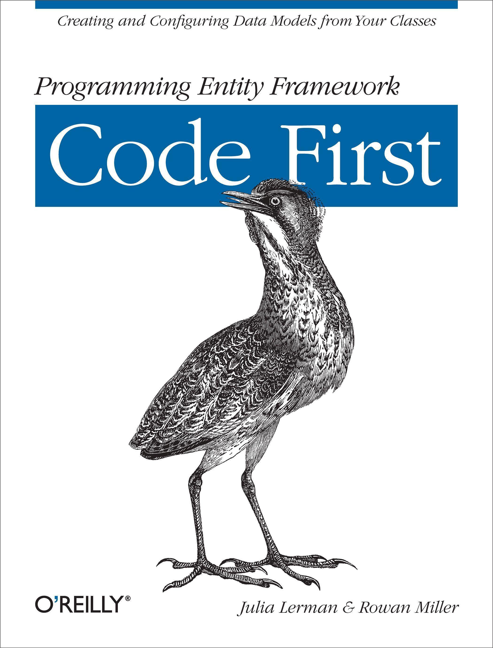 Programming Entity Framework: Code First Julia Lerman