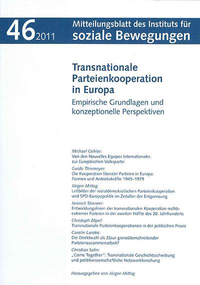 Transnationale Parteienkooperation in Europa