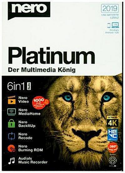 Nero Platinum 2019, 1 CD-ROM