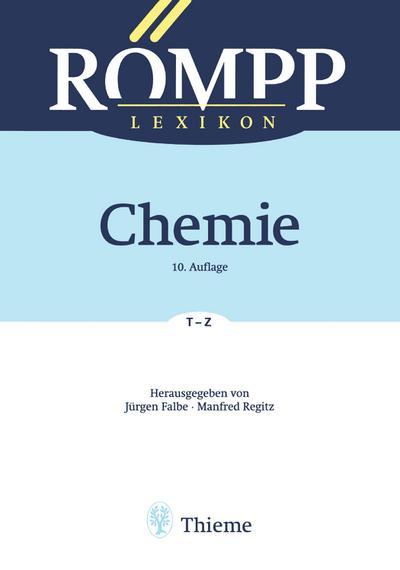 RÖMPP Lexikon Chemie 06, 10. Auflage, 1996-1999