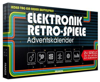 Elektronik Retro-Spiele Adventskalender 2019