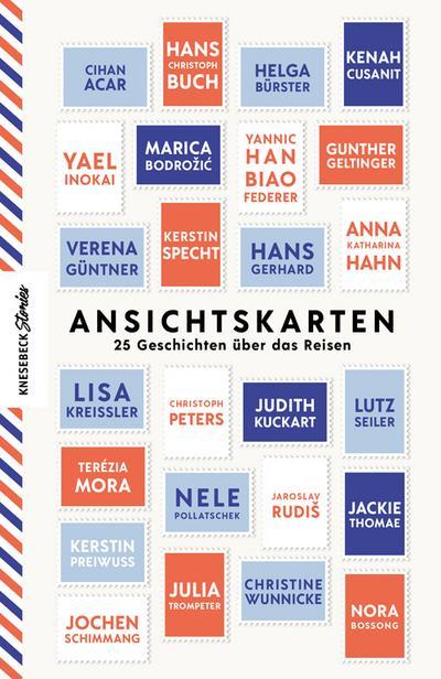 Ansichtskarten; 25 Geschichten über das Reisen; Ill. v. Hülsmann, Jörg; Hrsg. v. Hesse, Hanna; Deutsch