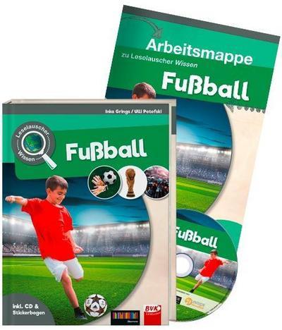 Leselauscher Wissen: Fußball (inkl. CD & Stickerbogen). Set